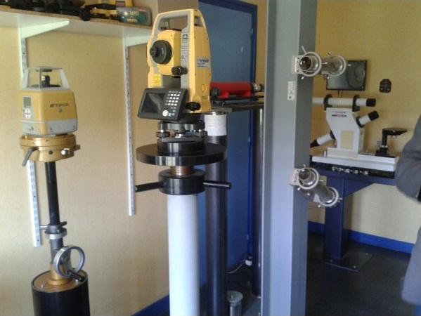 Lasers, niveaux de chantier et GPS